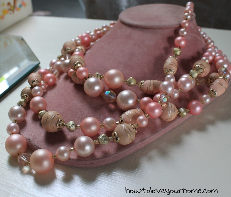 Vintage costume jewelry..always a favorite...McKinney Trade Days