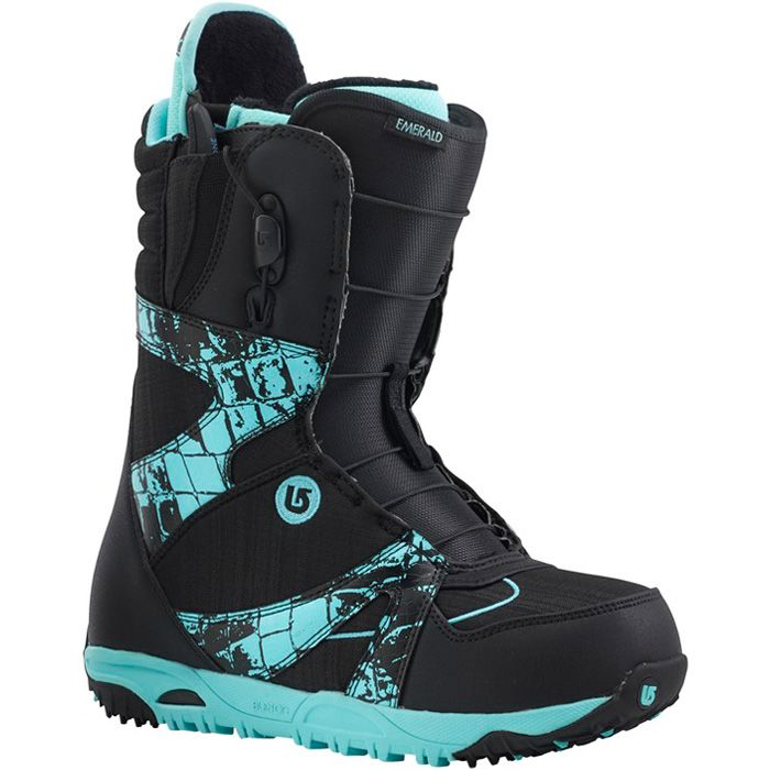 @burtonsnowboards Emerald Boots - Women's: Black Croc 2015