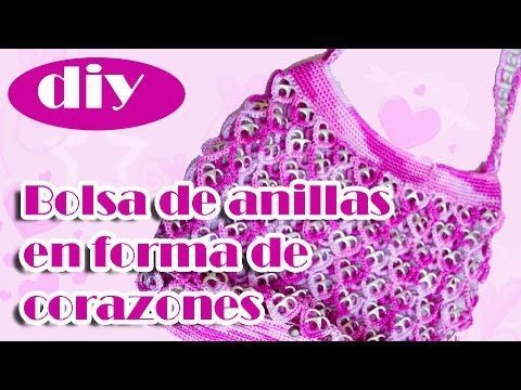 "How to crochet a handbag with soda can tabs: ""Queta Purse"" part 1 - YouTube"