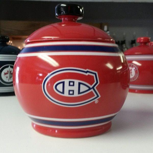 NHL Montreal Canadiens Ceramic Jar