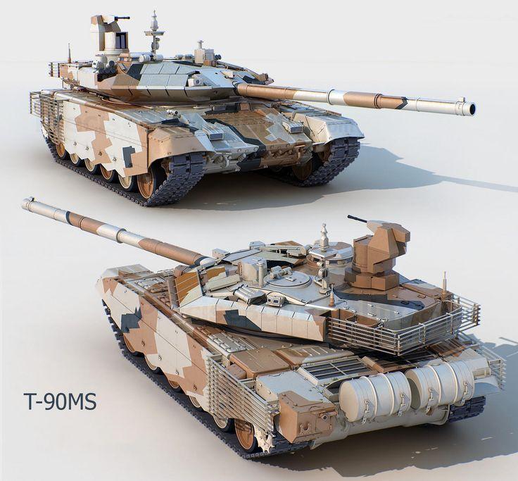 T-90 MS Tagil Russian main tank