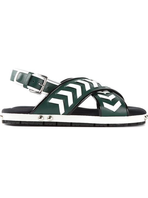 Comprar Marni sandalias con patronaje cheurón en O' from the world's best independent boutiques at farfetch.com. Over 1500 brands from 300 boutiques in one website.