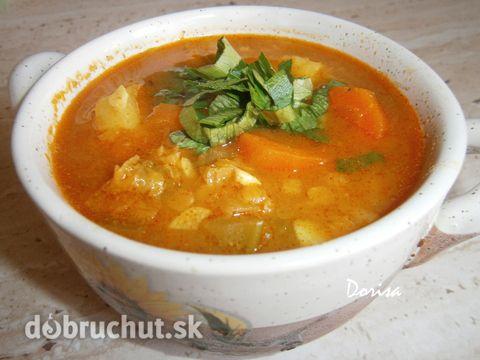 Fotorecept: Indická polievka z červenej šošovice