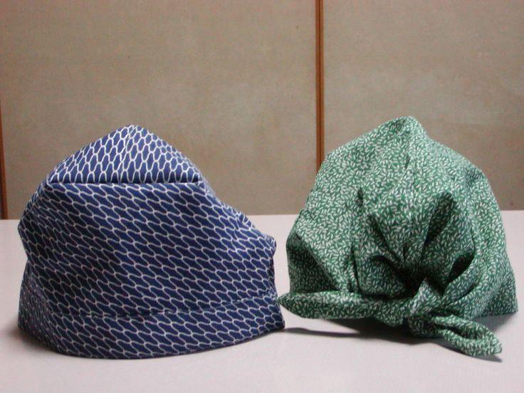 ずれない手ぬぐい帽子 の画像|手作り日記