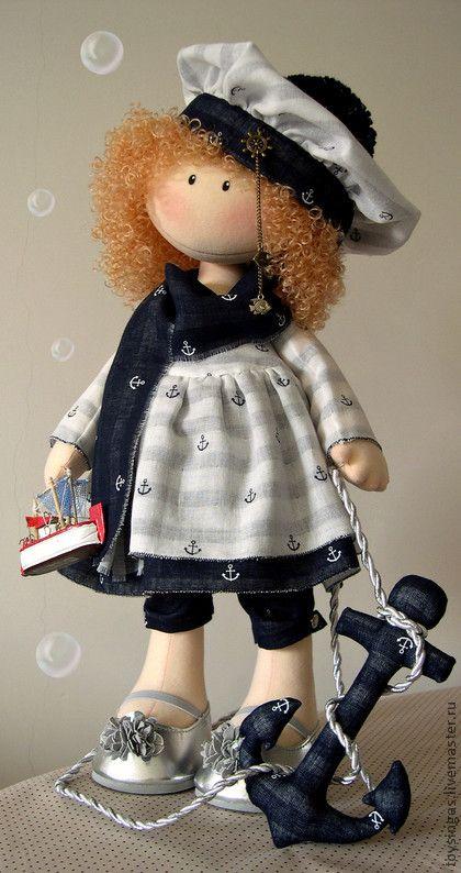 Коллекционные куклы ручной работы. Ярмарка Мастеров - ручная работа Кукла текстильная Соня. Handmade.
