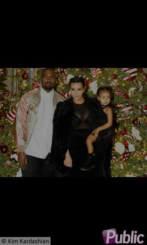 Kim Kardashian, Kany West & North West