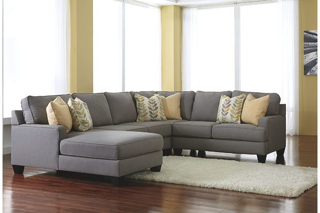 LAF Corner Chaise Sectional By Signature Design By Ashley. Get Your  Chamberly   Alloy 4 Pc. LAF Corner Chaise Sectional At Furnish 123 Eau  Claire, ...