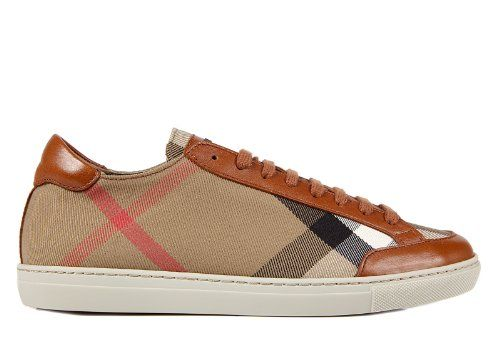 Burberry womens shoes leather trainers sneakers