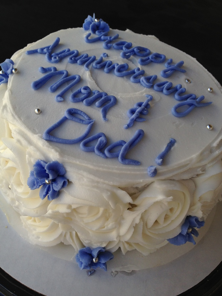 Anniversary Cakes For Mom And Dad www.pixshark.com ...