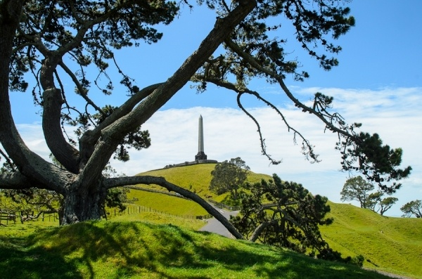 One Tree Hill Auckland New Zealand by Jon Sparks