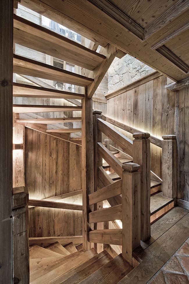 Pin von l g auf inspiration architecture pinterest for Innendekoration chalet