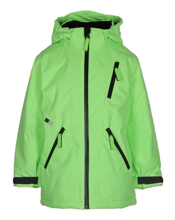 www.aatio.fi, Aati O, lastenvaatteet, Molo Kids, Alpine jacket Space Neon