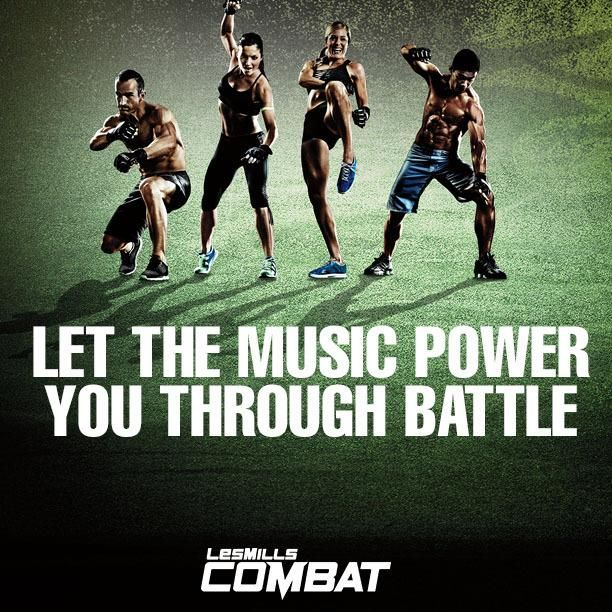 Beachbody Les Mills Combat Workout Motivation Let the music power you through the battle www.facebook.com/HealthyFitandWise www.beachbodycoach.com/wiselori