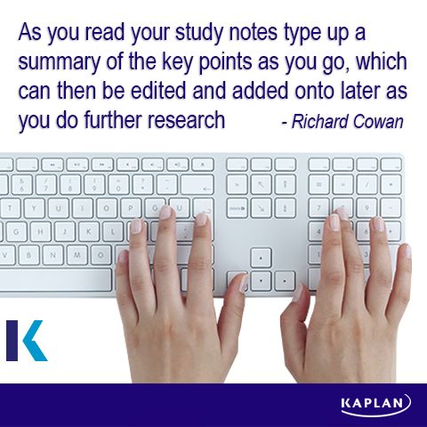 Study tip - Summarise.