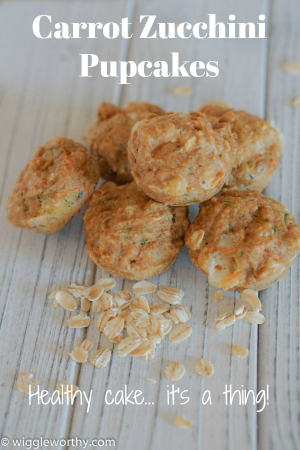 Carrot Zucchini Pupcakes Recipe Dog Cookie Recipes Homemade