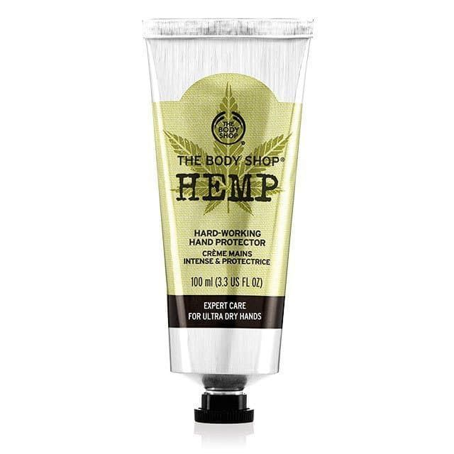 Made From Community Trade Hemp Seed Oil Our Best Selling Hemp Hand Protector Is Heavy Duty Hand Hydration To Help Soften The Body Shop Body Shop At Home Hemp