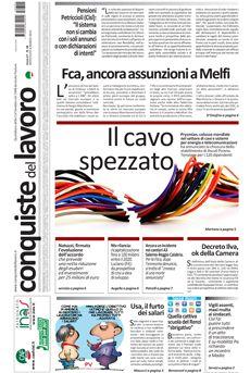 Prima pagina di Conquiste del 4 marzo 2015