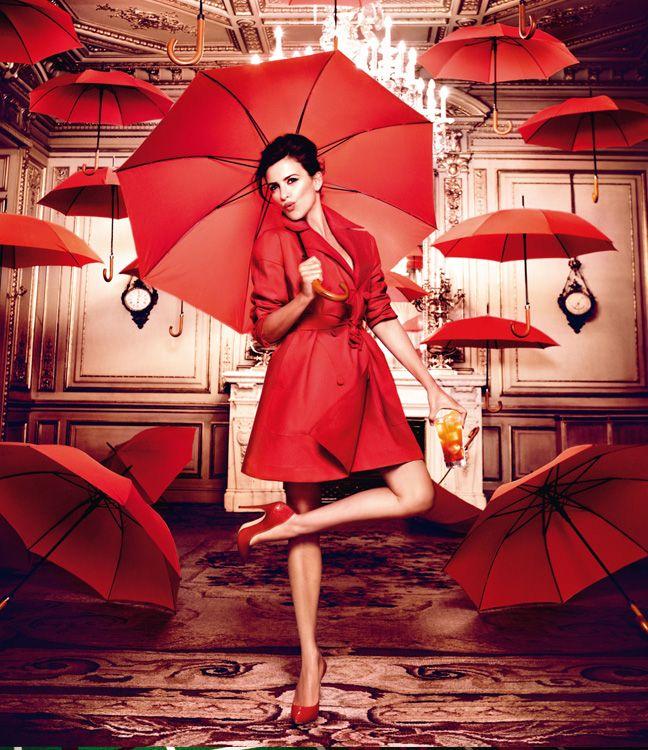 Penelope Cruz by Kristian Schuller for the 2013 Campari Calendar