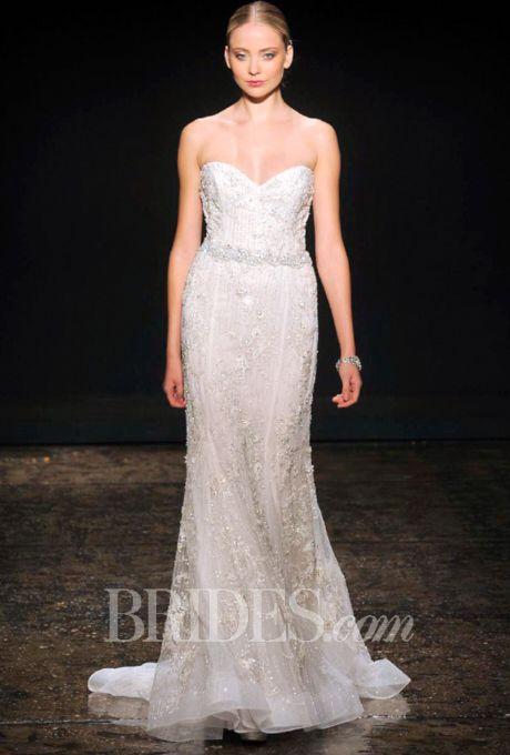 Lazaro wedding dresses fall 2014 bridal runway shows for Lazaro lace wedding dress
