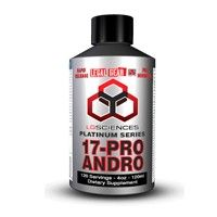 LG Sciences 17-Pro Andro Liquid is a very popular prohormone compound that many users compare to illegal anabolic compounds.  Specifically, many users have told us it feels like Winstrol!  Why?  It's because the qualities of Winstrol are also the same qualities of 17-Pro Andro!  It converts to DHT giving you the edge over others in the gym!  You can use this powerful prohormone as a standalone or as an addition to your prohormone cycle.
