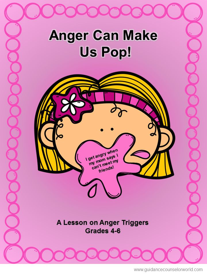 Guidance lesson on Anger Triggers & Reactions.Teach students recognize things that trigger their anger and to be aware of their reactions. NEVER create another guidance lesson again with our aligned K-6 guidance lessons! We've got more GUIDANCE LESSON Plans, all which are aligned for grades K-6! Each lesson plan has a Word doc for each grade level and a PDF that includes all interactive activities and printables. Anger | Elementary Guidance Lessons