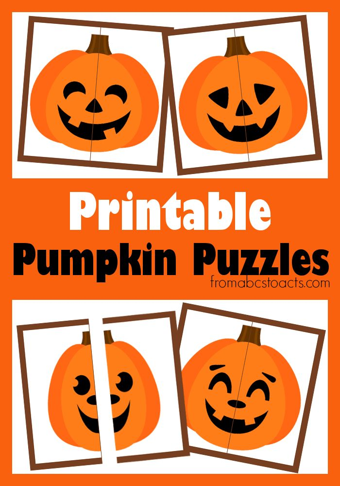 Getting ready for Halloween in our house has always involved a lot of pumpkins. Whether they're the printable kind like our pumpkin matching game we made l