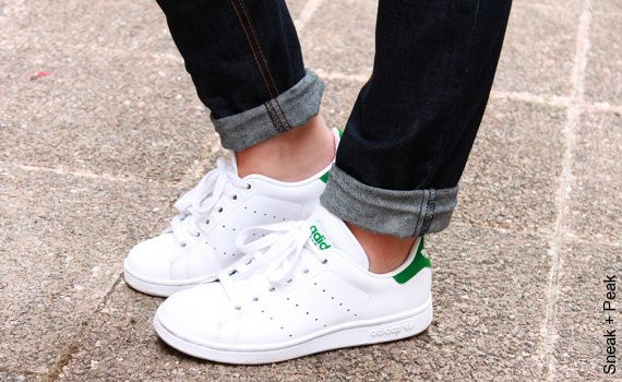 Tennis Adidas Stan Smith - clean, crisp and white they go with everything