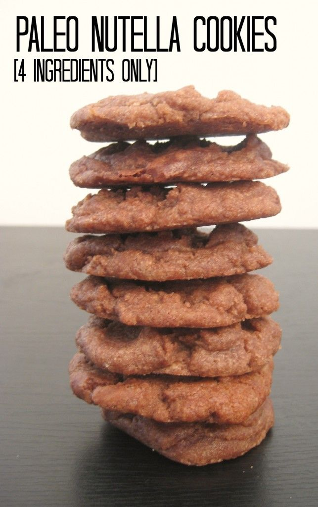 jane diaz jewelry 4 Ingredient Paleo Nutella Cookies  Ready in under 10 minutes and naturally Gluten Free  Grain Free and Vegan