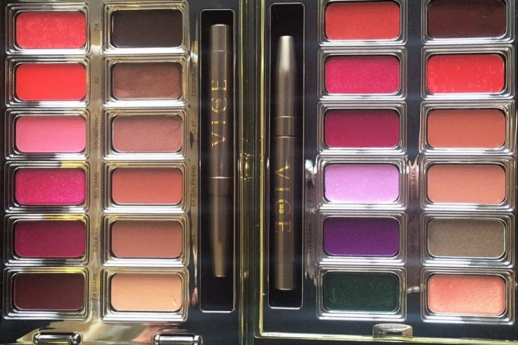 Add the New Urban Decay Vice Lipstick Palettes to Your Holiday Wish List | Allure