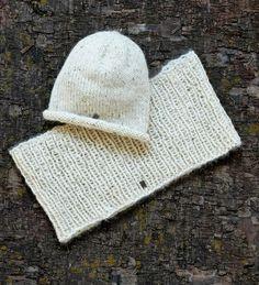 Sticka mössa och halsduk från Knit4u.se Foto Thomas Hjertén