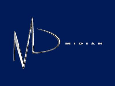 Rodney Pike Design. Corporate Identity: Midian (Rock band) Project included: Logo design. Another Pike Design