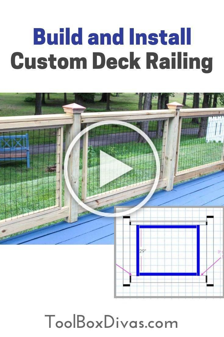 learn how to build and install affordable custom deck ...