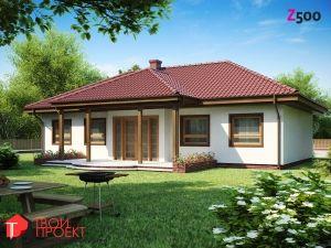 Z5. Проекты домов (до 100 м2). Одноэтажные дома