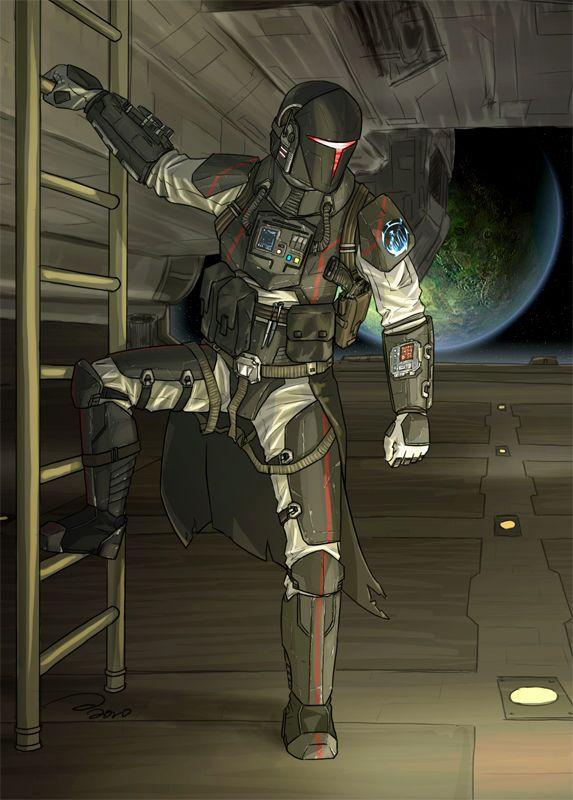 Mandalorian Pilot armor/gear