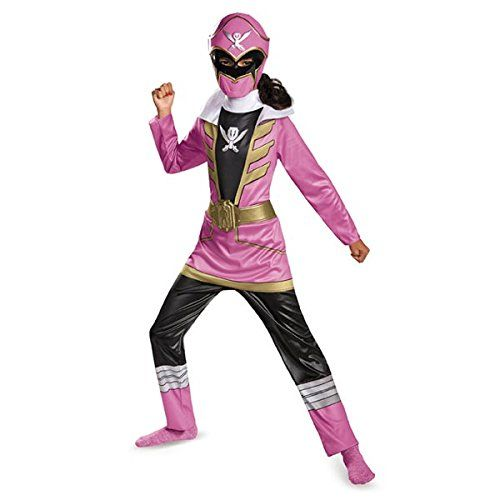 Disguise Saban Super MegaForce Power Rangers Pink Ranger Classic Girls Costume, Small/4-6x *** To view further, visit…