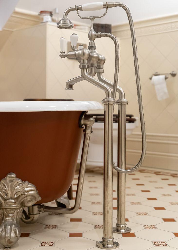 Referenzen Traditional Bathrooms Gusseisen Badewanne