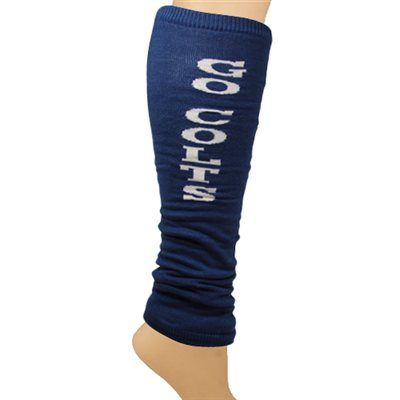 Need these to wear over Colts pants on the way to yoga.  :)  Indianapolis Colts Ladies Go Team Leg Warmers - Royal Blue