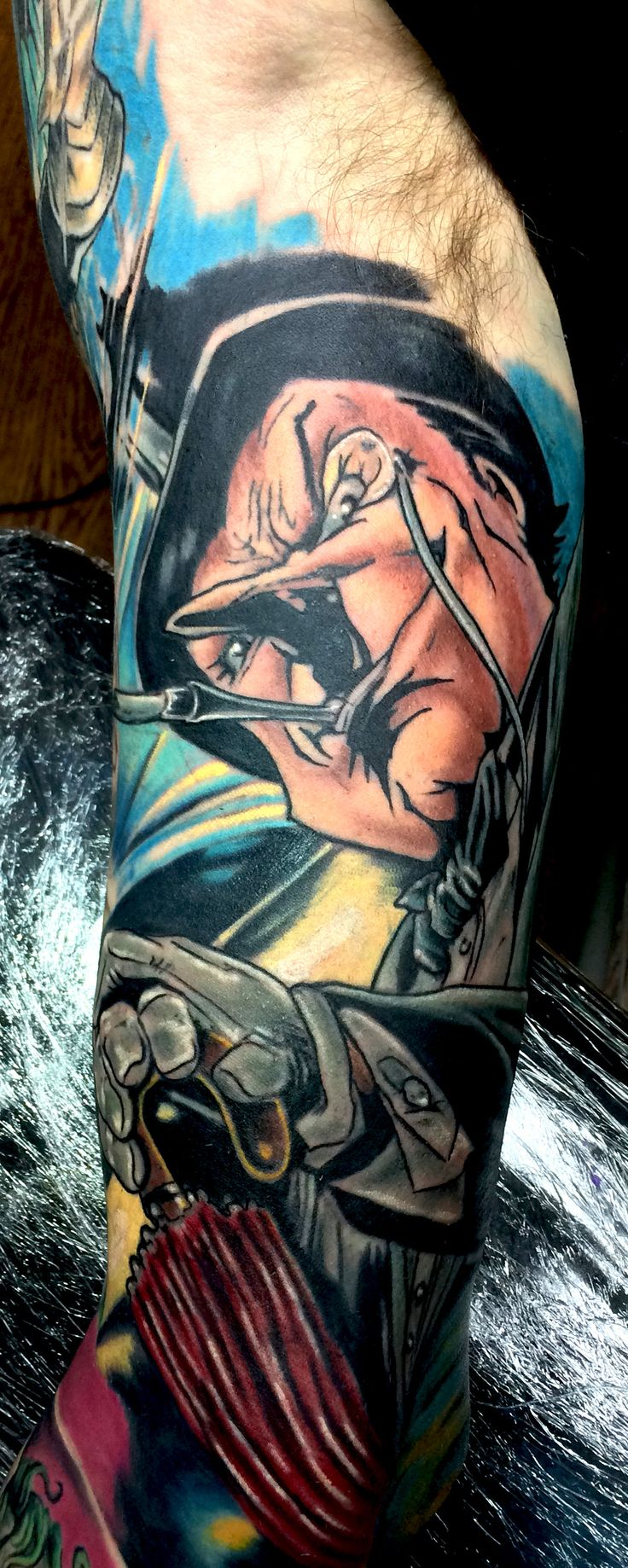 Flaming art tattoo for geek tattoo lovers this kind of batman - Find This Pin And More On Batman Villain Tattoos