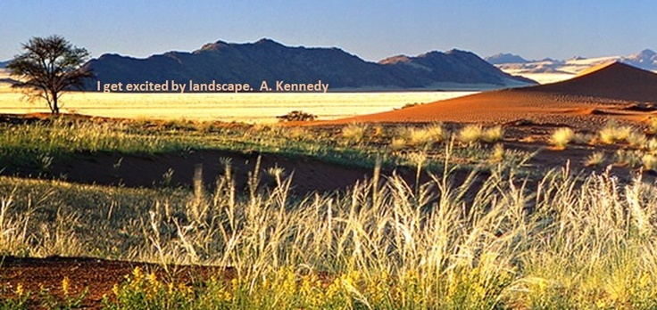 Which Namibian landscape get's you excited?