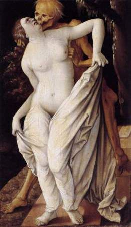 Hans Baldburg Grien: Death and the Maiden, 1518 – 1520