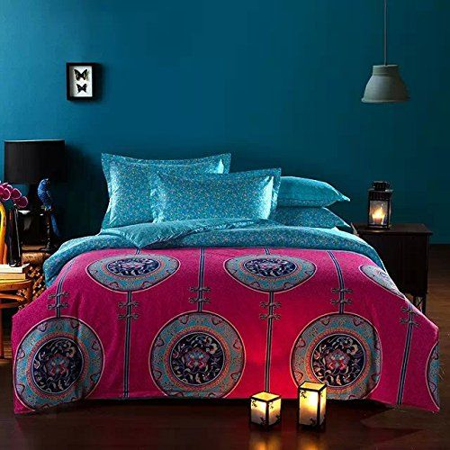 FADFAY Bohemian Style Duvet Covers Bedding Set Full Size ... https://www.amazon.ca/dp/B011I9AH86/ref=cm_sw_r_pi_dp_oX1qxbW1J4B77
