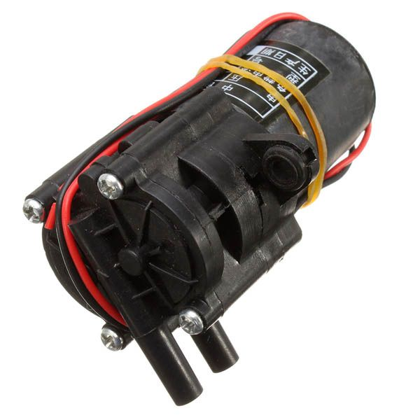 DC 12V Mini Brushed Submersible Water Pump Motor Garden Fountain Pump Pesticide Spray Pump