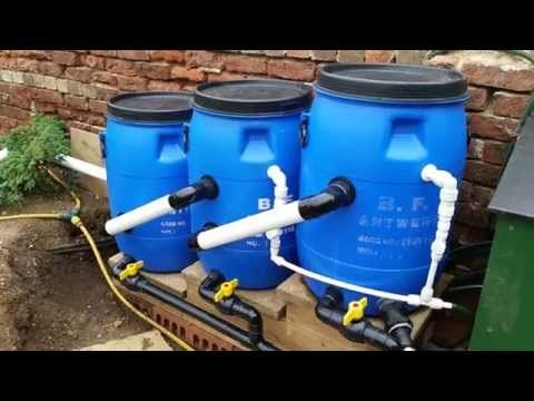 Homemade koi pond filter system homemade free engine for Best homemade pond filter media