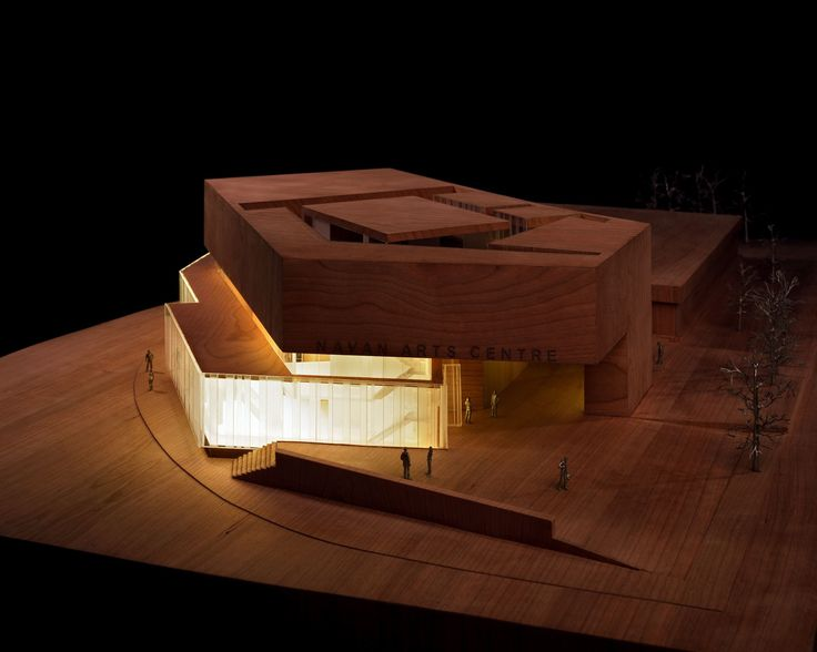 Image 12 of 13 from gallery of Solstice Arts Centre / Grafton Architects. Model