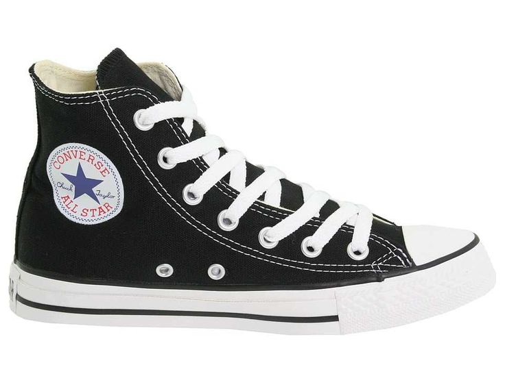Converse All Star Chuck Taylor Hi Black White New Shoes