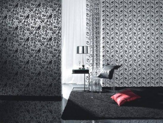 69 best home wallpaper designs images on pinterest | home