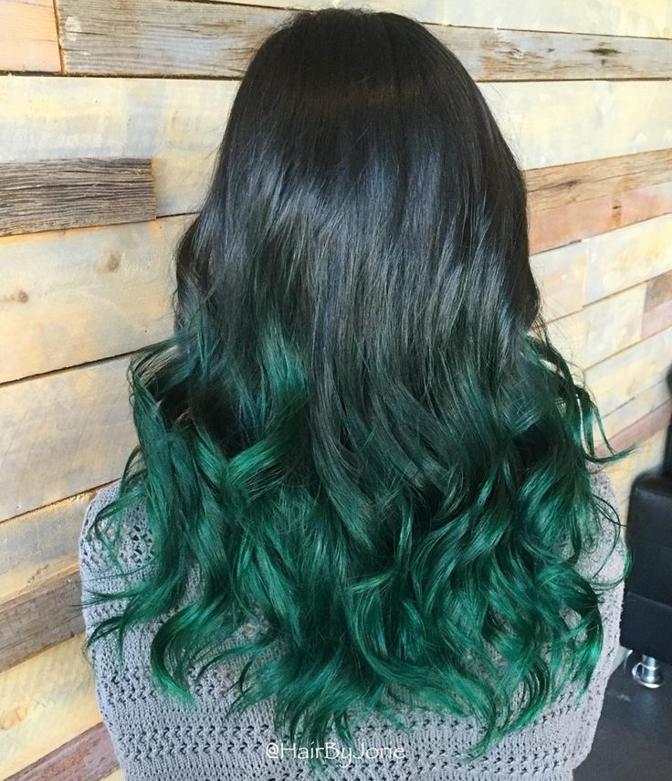 Mermaid Green Ombre