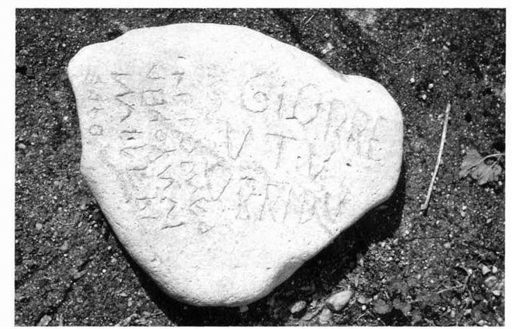 l'scrizione di allai, località s'iska de nuraki. da: pittau ... - Arredo Bagno Sardegna