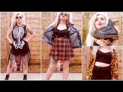 wearing to Download Festival 2014 MelonLady Fashion Punk