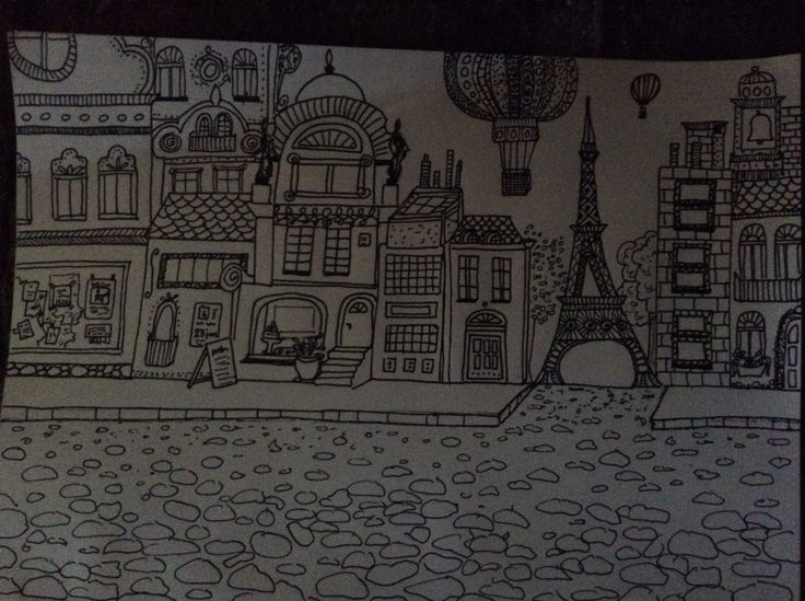 Lutande tornet i Paris